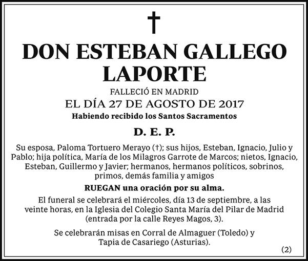 Esteban Gallego Laporte